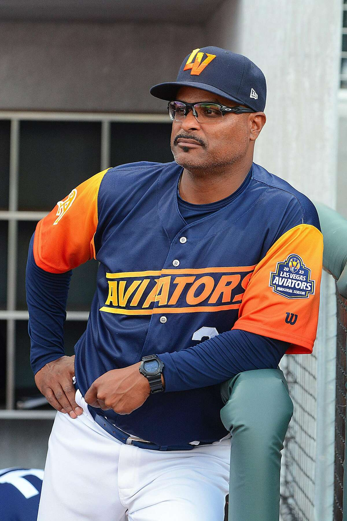 Triple-A Las Vegas hitting coach Eric Martins worked extensively with recent callups such as Seth Brown and Sheldon Neuse.