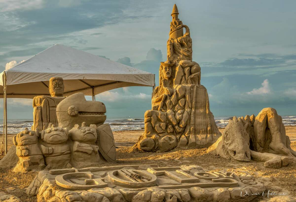 Fifty architecture, design, and engineering firm teams from across Houston constructed works of art from purely sand and water at the 2019 AIA Houston Sandcastle Competition in Galveston last month. Photo by:David Holland