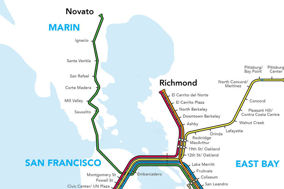 BART could have traveled up to Marin. So what happened? Photo: Blair Heagerty / SFGate