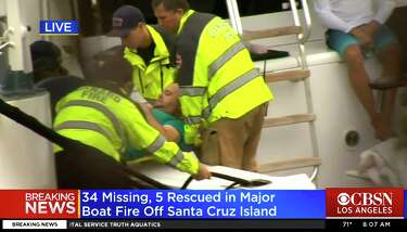 Coast Guard: 25 bodies found after California boat fire
