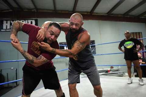 San Antonio pro wrestling school teaches more than body