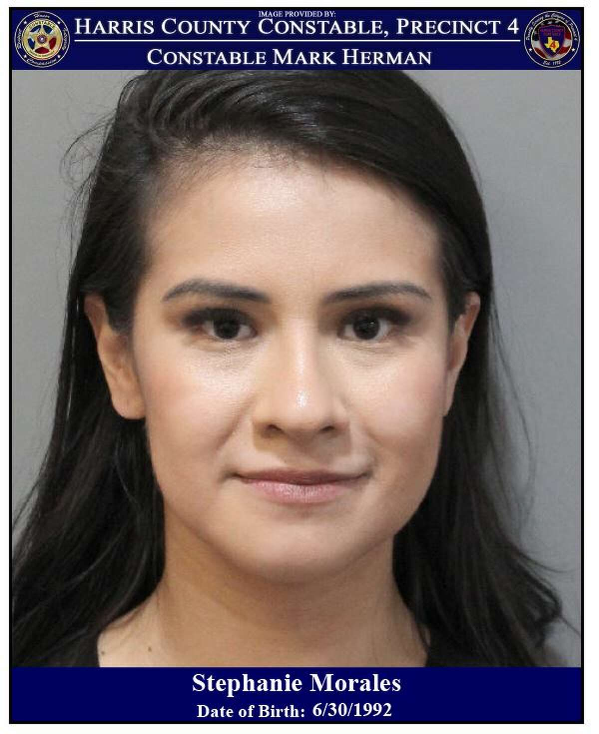 Stephanie Morales, 27, was charged with driving while intoxicated during a 2019 Labor Day weekend DWI crackdown in north Harris County.
