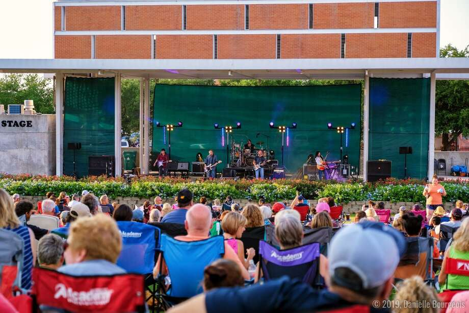 A previous City of Conroe First Thursday Free Concert at Heritage Place Park. The series returns Thursday night at 7:30 p.m. with Already Gone - An Eagles Tribute group. Photo: City Of Conroe / City Of Conroe