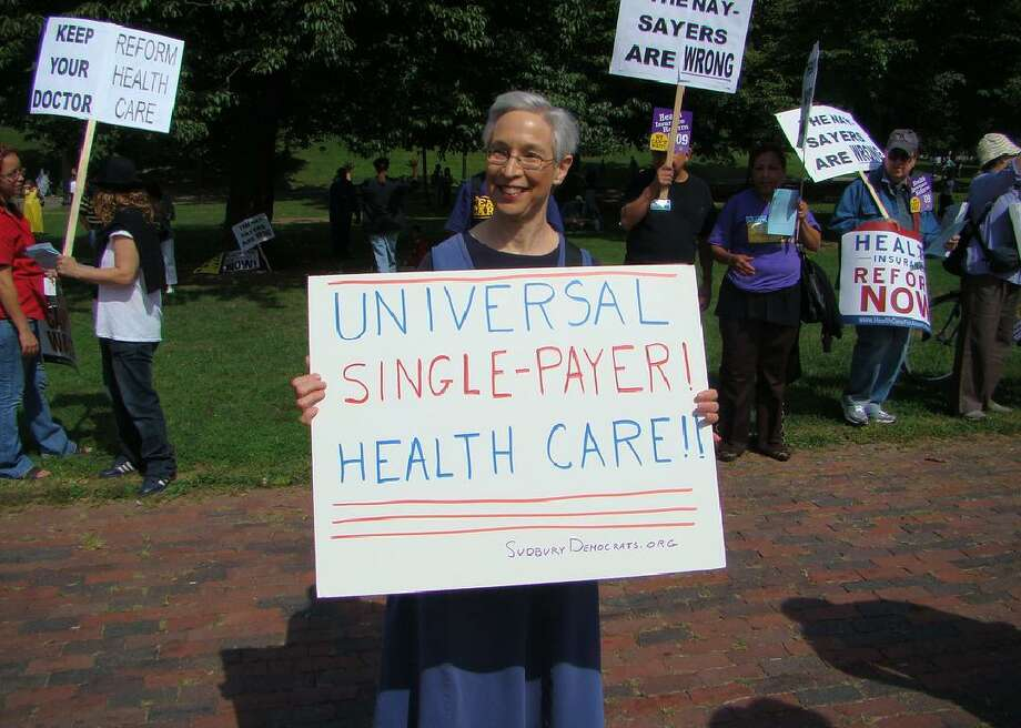 Single-payer health care Under  a single-payer system, a government-run agency would finance health care for all, typically through taxes.  Supporters say it would help cover uninsured and underinsured Americans, control costs, and make health care a right, not a privilege.  Opponents argue that single-payer health care would stifle innovation by leaving pharmaceutical companies, device makers, and others with less money for research, give the government too much control, and limit treatments to the most cost-effective. This slideshow was first published on Stacker Photo: Zach Alexander // Flickr