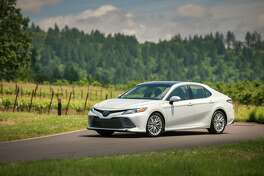The 2019 Toyota Camry XLE has a stellar fuel economy.
