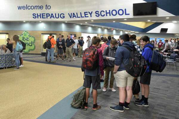 First day of school at Shepaug Valley School. Tuesday, September 3, 2019, in Washington, Conn.