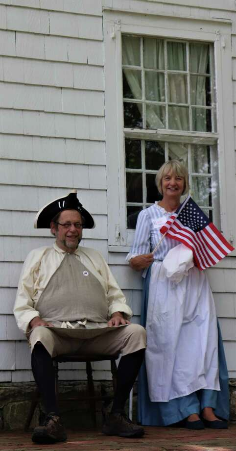 Keeler Tavern Museum volunteers George Hancock and Elizabeth Hancock (not related) are looking for interested people to give public tours of the history center. If interested in joining the team call 203-438-5485 or email cprescott@keelertavernmuseum.org for details.