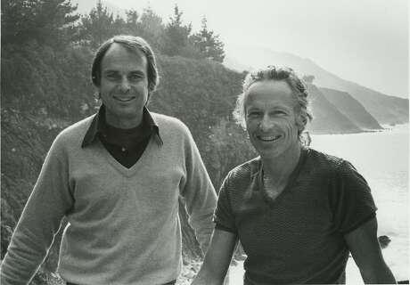 Esalen founders Michael Murphy and Dick Price, 1981