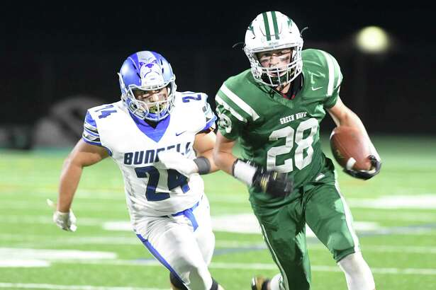 New Milford's Johnny Fitzmaurice will be one of the Green Wave's top offensive threats this season.