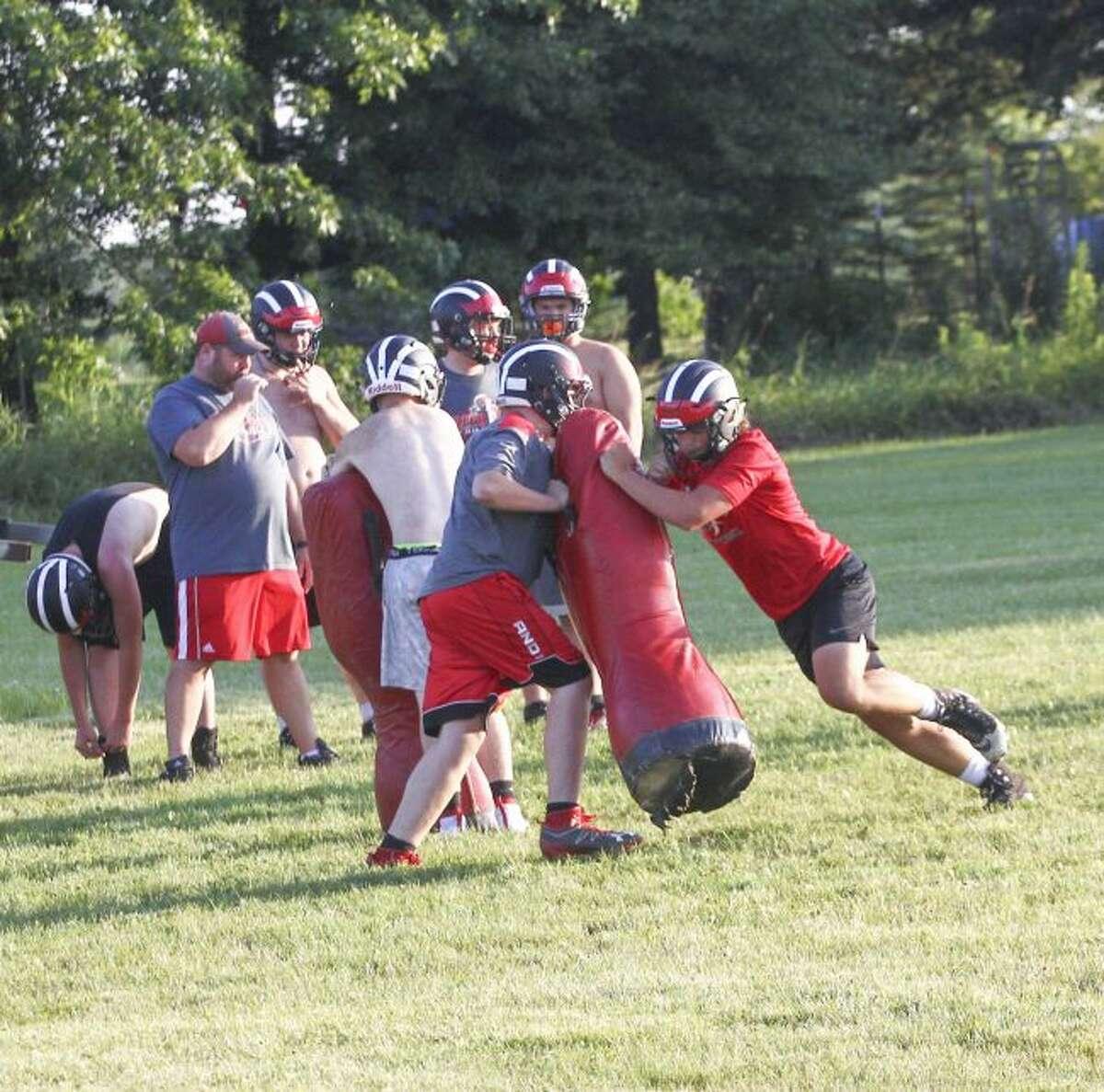 Reed City has had a busy summer of football.
