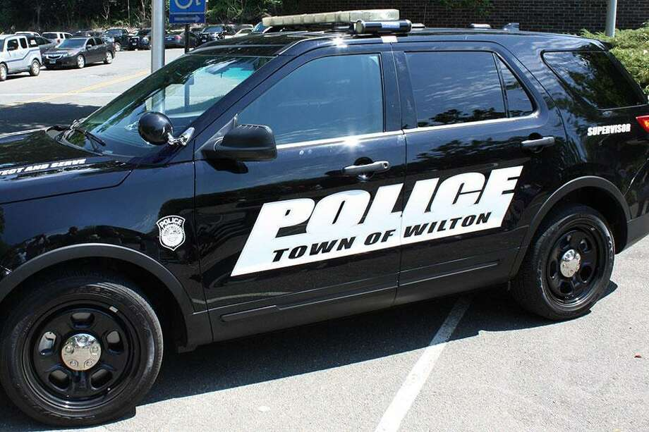 Wilton police made arrests recently for breach of peace and leaving a child alone in a car. Photo: Contributed Photo / / Wilton Bulletin Contributed