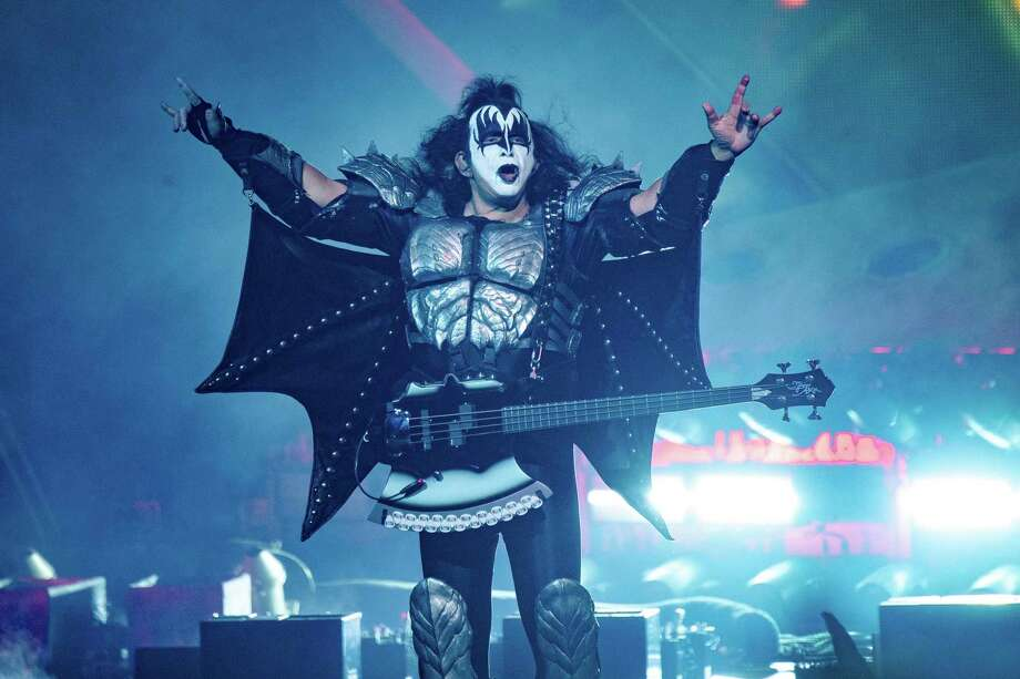 Gene Simmons of KISS performs at the Riverbend Music Center on Thursday, Aug. 29, 2019, in Cincinnati. (Photo by Amy Harris/Invision/AP) Photo: Amy Harris, INVL / Associated Press / Invision
