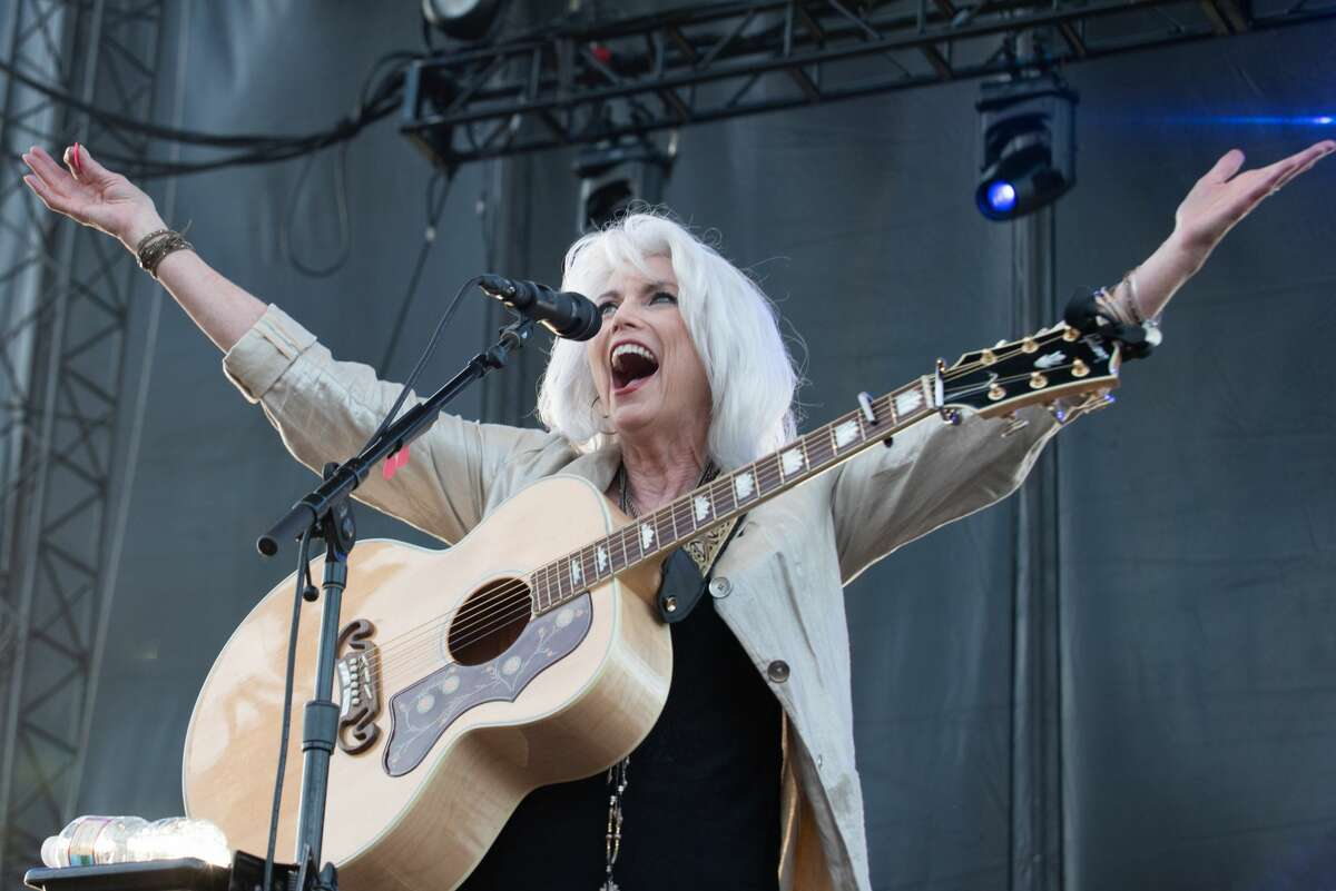 Singer songwriter Emmylou Harris performs live on stage at the Gorge Amphitheatre on June 01, 2019 in George, Washington.
