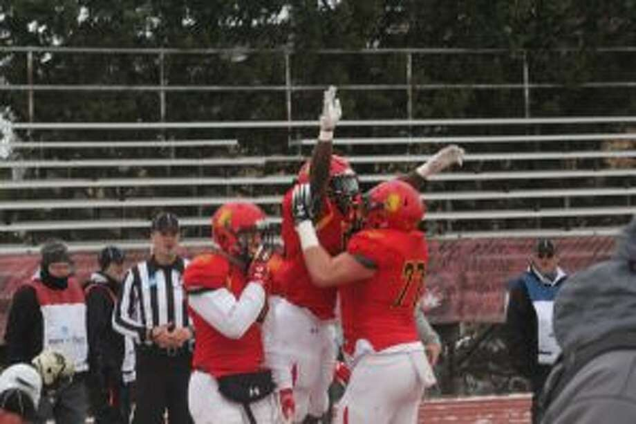 Ferris football players hope to be doing a lot of celebrating again this season