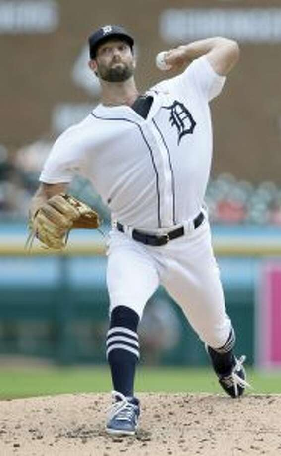 Detroit Tigers' Daniel Norris pitches against the Kansas City Royals during the second inning of a baseball game, Sunday, Aug. 11, 2019, in Detroit. (AP Photo/Duane Burleson)