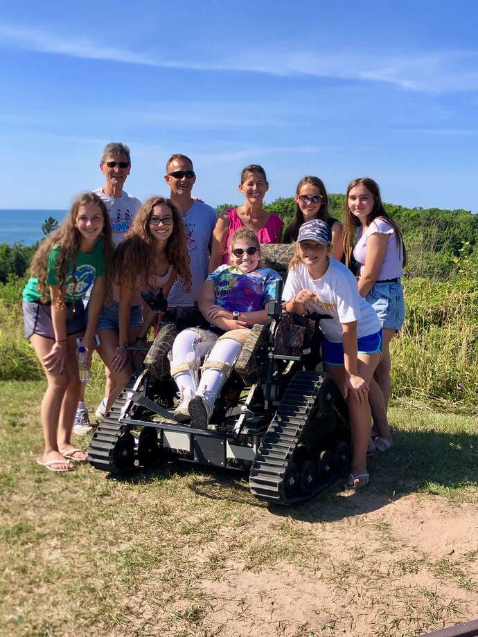 Thanks to the Friends of Sleeping Bear Dunes, families can now enjoy amazing sights together, regardless of the physical abilities of a member of their party. (Courtesy photo)