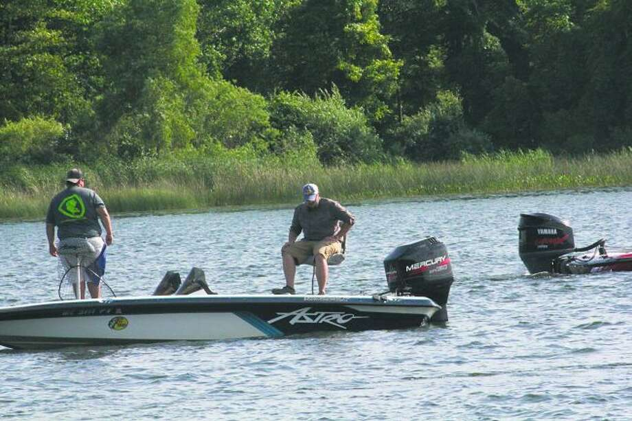 Anglers are hoping for cooler temperatures. (John Raffel/Pioneer News Network)