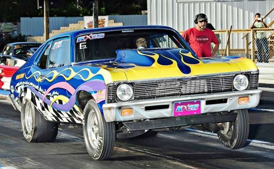 Charlevoix racer Karl Balch is in his second season of racing with his Chevy Nova. He is currently tied for 20th with Cadillac's Darrin Noaker, in the Pro Systems Bracket I standings. (Chris Simmons Photography)