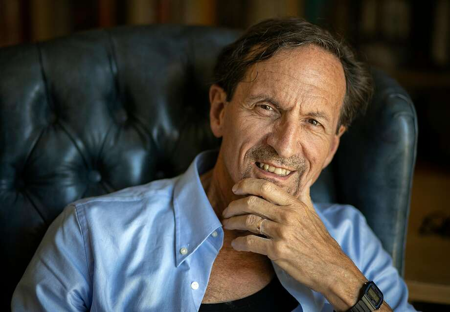 Esalen President Gordon Wheeler, at home in Santa Cruz. Photo: LiPo Ching / Special To The Chronicle
