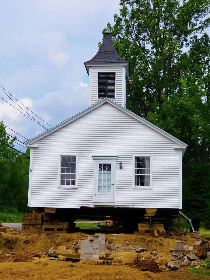 "The Winchester Center Historical Association (WCHA) is restoring the 18th century ""Old Academy,"" most commonly called the ""Chapel,"" which is a museum of local history located on the Green in Winchester Center. Photo: Contributed Photo"