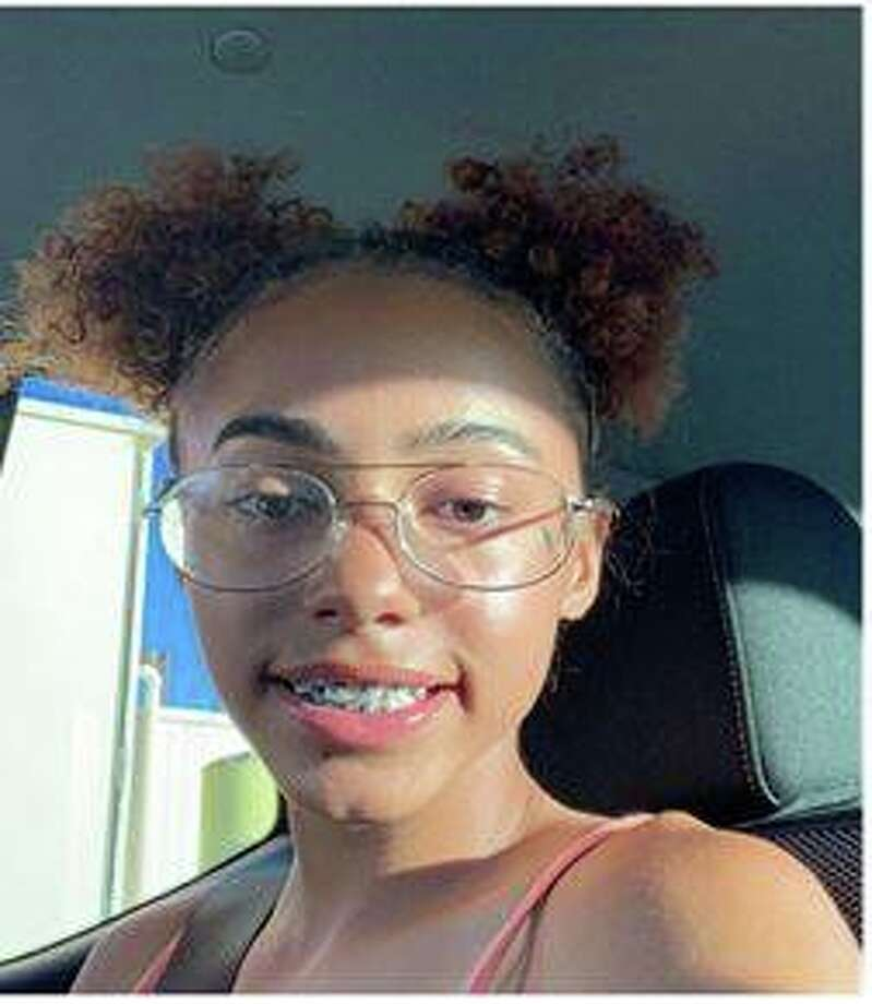 Sky Mckee, 15, was last seen at about 11:30 a.m. Sunday, according to an MPD Facebook post. Mckee was last seen wearing a purple long-sleeve shirt and black shorts. Photo: Midland Police Department