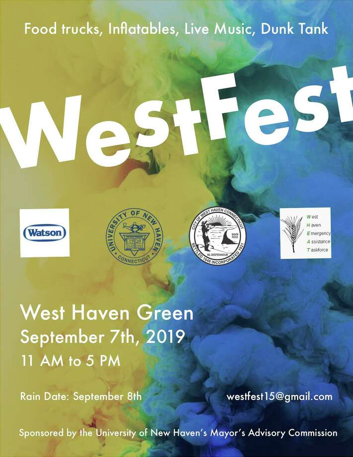 WestFest is set for Sunday, Sept. 8 in West Haven. Photo: Contributed Photo