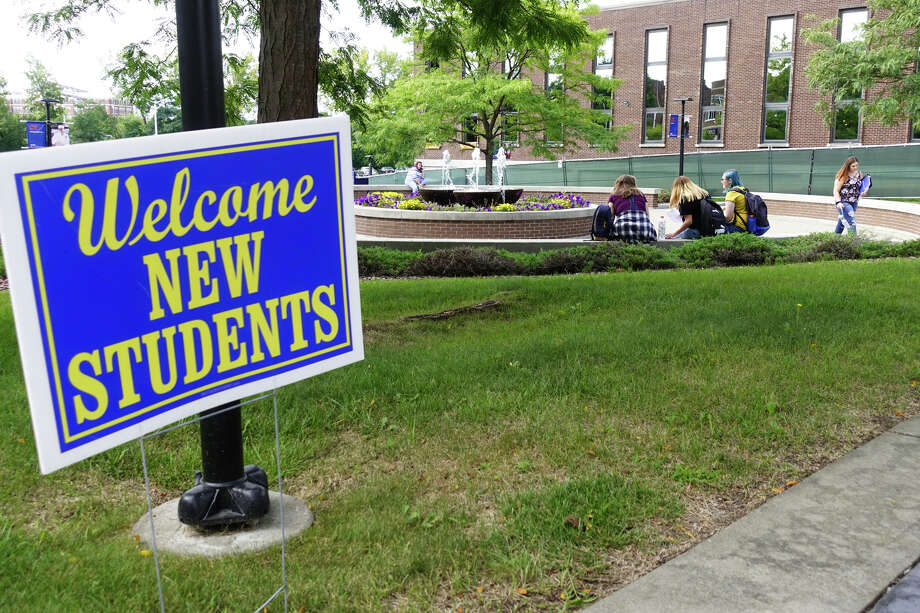 Tuesday was the first day of classes at SUNY Schenectady, seen here on Tuesday, Sept. 3, 2019, in Schenectady, N.Y.   (Paul Buckowski/Times Union) Photo: Paul Buckowski, Albany Times Union / (Paul Buckowski/Times Union)