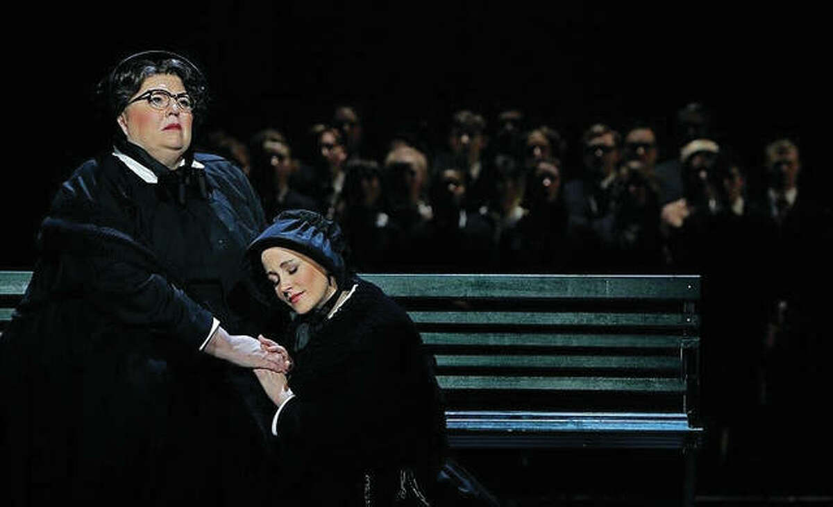 """World-class soprano Christine Brewer, left, in a Minnesota Opera production of """"Doubt."""""""
