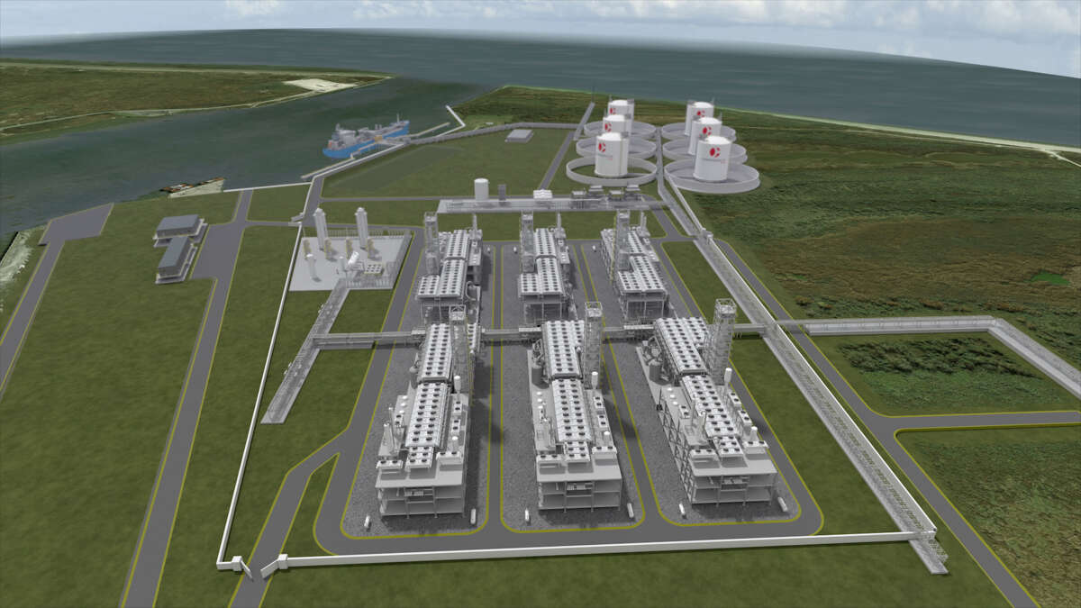 Houston liquefied natural gas company Commonwealth LNG has filed its formal application to build an export terminal in southwest Louisiana.