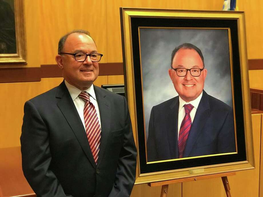 Middletown resident retired Judge Robert L. Holzberg, partner at the law firm Pullman & Comley in Hartford, is among the 2020 annual list of Best Lawyers in Connecticut. His portrait was hung in Superior Court at Middletown in 2018 to recognize his 22 years on the bench. Photo: Contributed Photo
