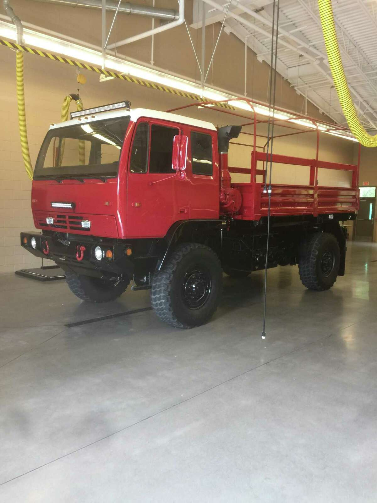 The Woodlands Fire Department is seeking to purchase two 5-ton high-water emergency trucks with new funding from The Woodlands Township in the proposed 2020 budget. The department already has two of the heavy-duty high-water vehicles, but wants more to better serve the community if another catastrophic event like Hurricane Harvey hits the region. During Tropical Storm Imelda, officials sent one of the high water vehicles to eastern Montgomery County to assist with rescues.