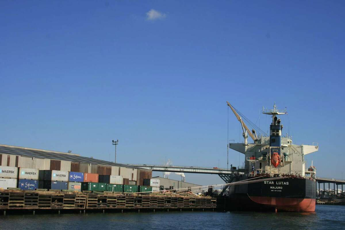 Containers await their next journey at Port Houston's docks. The Greater Houston Port Bureau will host a luncheon Thursday.