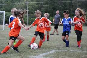 Another year of soccer is underway as the Bad Axe Soccer Association kicked off its 2019 season Tuesday night. For a full look at this year's schedule, visit www.badaxesoccer.org/schedules.