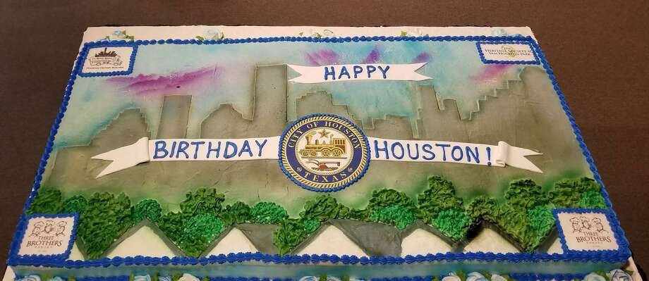 On Saturday, Aug. 31, at The Heritage Society at Sam Houston Park, the city of Houston celebrates the 183 years since the Allen brothers founded it in 1836, complete with a huge birthday cake. Photo: Courtesy Photo By Citlalli Martinez