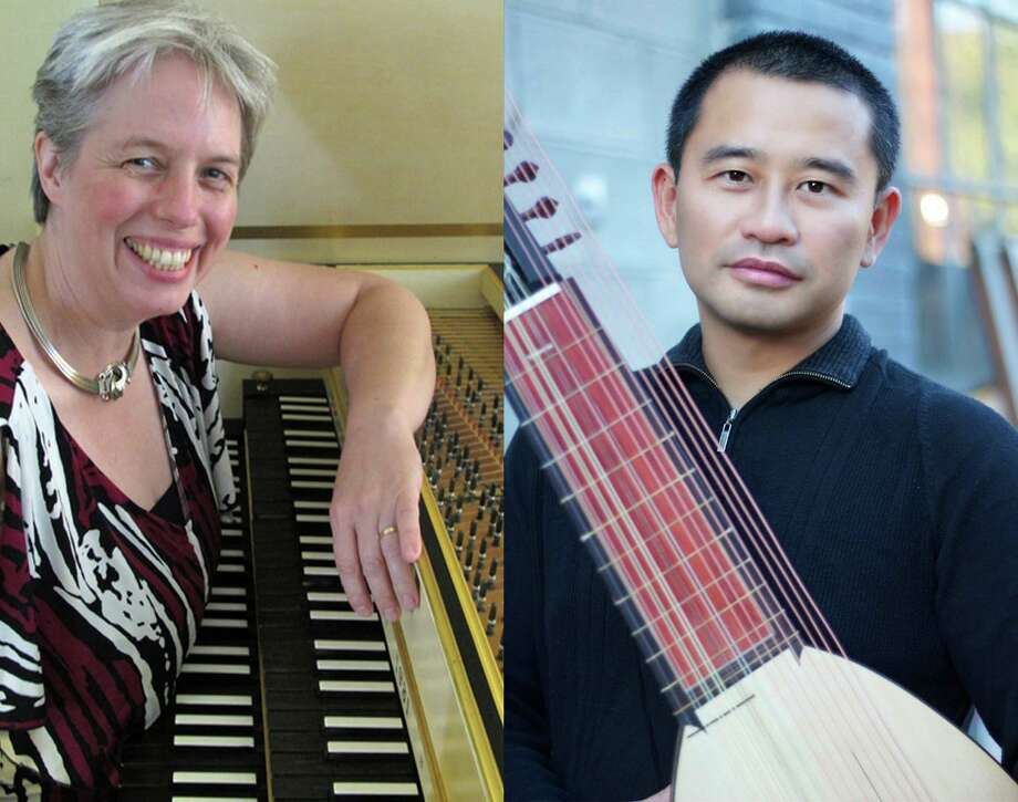 Crescendo opens its 2019-20 performance season with concerts in Great Barrington on Sept. 7, and Lakeville on Sept. 8.Heideki Yamaya, who is also a specialist in lutes, early guitars and early mandolins. joins founder Christine Gevert in both events. Photo: Contributed Photo