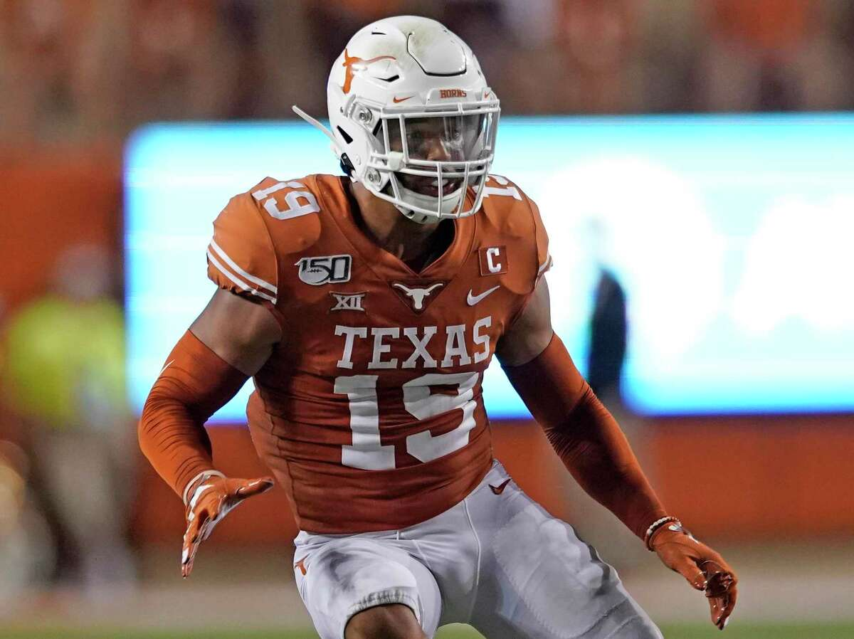 """During pregame warmups for Saturday's season opener against Louisiana Tech, Texas senior safety Brandon Jones wore a shirt declaring, """"There's only one DBU."""""""