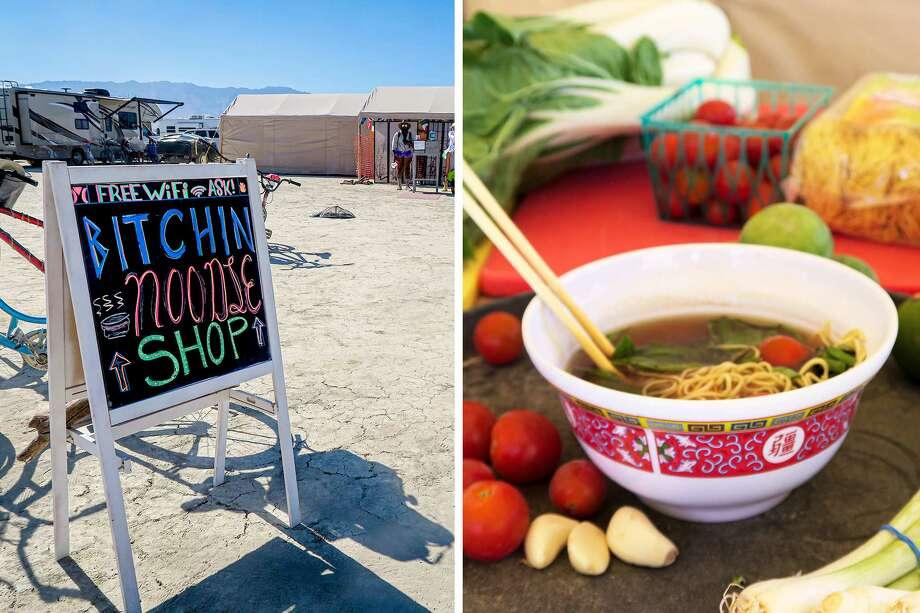 The Burning Man Noodle Shop So Popular It S Taking