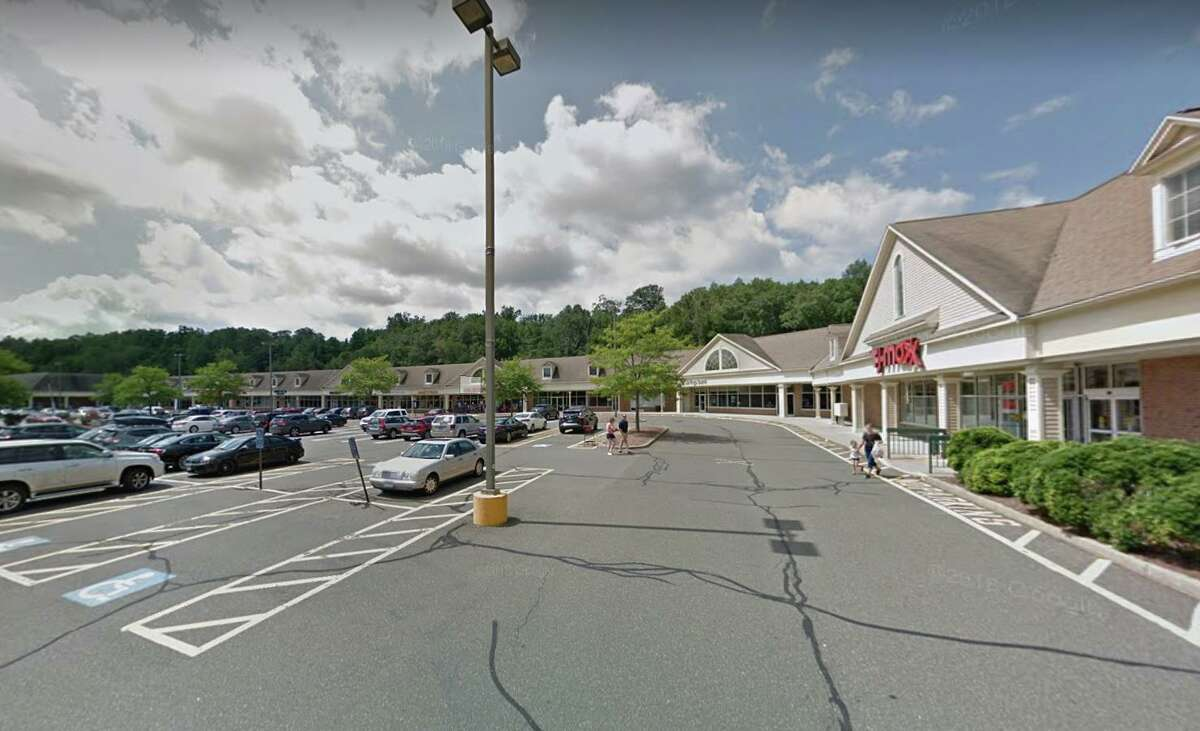 The parking lot of TJ Maxx, 228 South Main St., in Newtown.