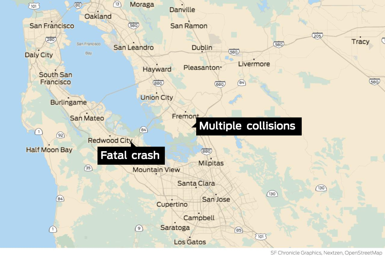 Severe traffic alerts issued after fatal crash on Hwy. 101, collisions on I-880