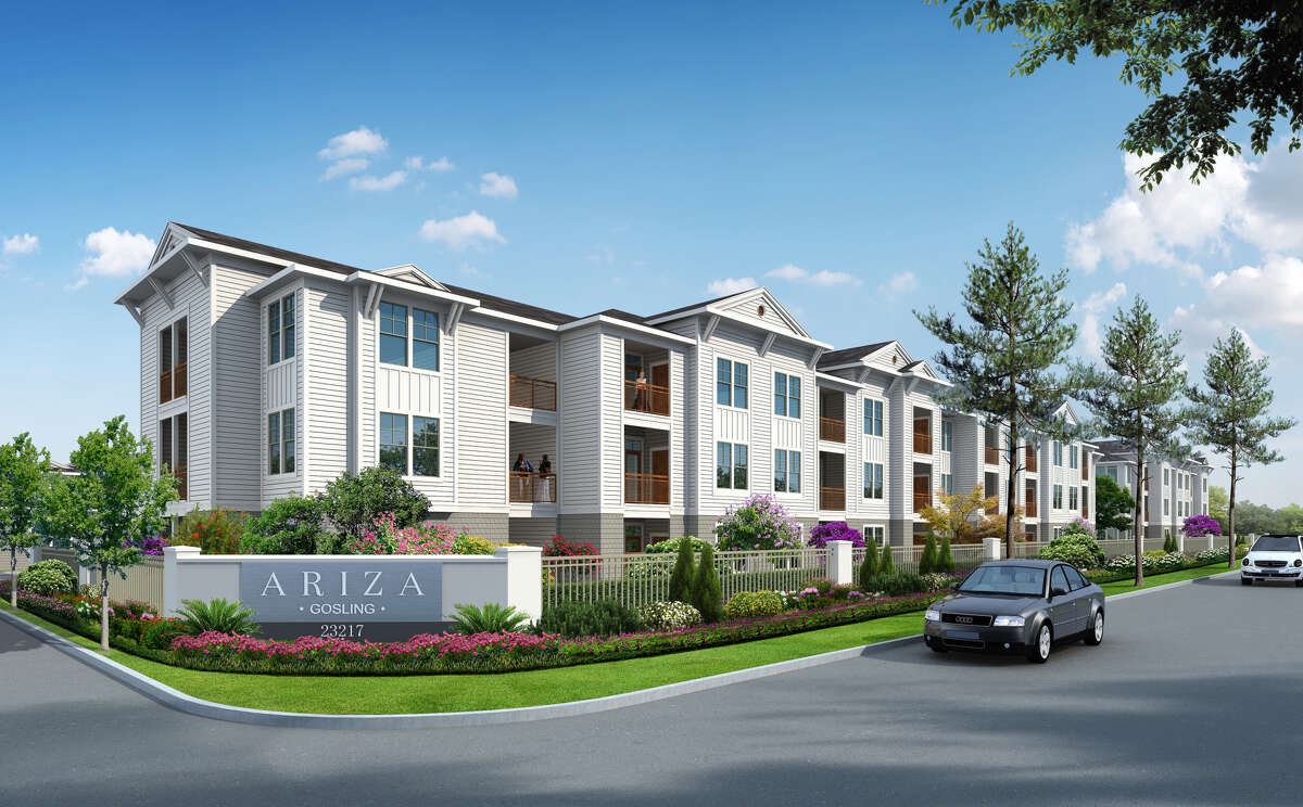 Ariza Gosling, a development of Cypressbrook Co., will contain 316 units on 12.15 acres at 23217 Gosling Road in Spring.