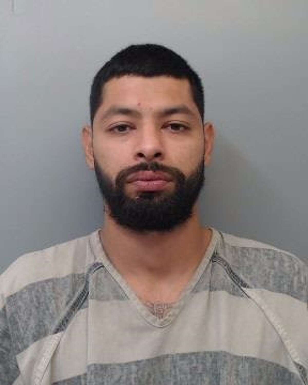 Jesus Chavez, 29, was charged with assault, family violence.