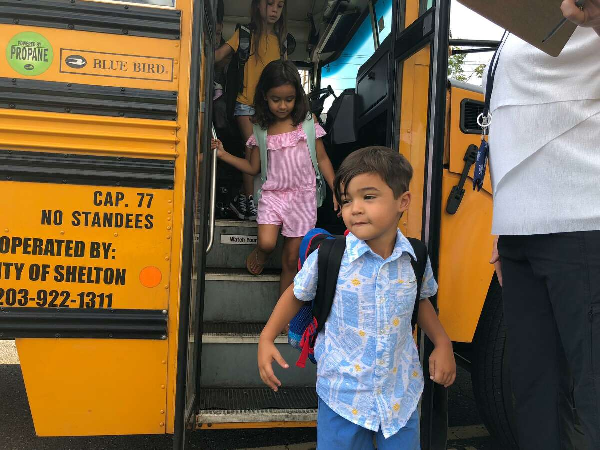 Schools officially opened on Wednesday, Sept. 4, and teachers at Mohegan School could not have been happier.