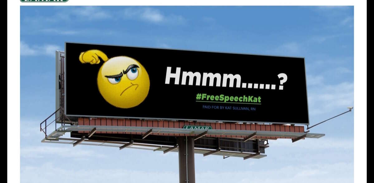 A billboard on I-787 targets the chairman of the Joint Commission on Public Ethics.