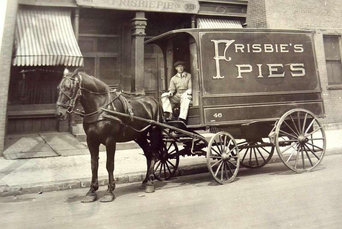 An early Frisbie truck