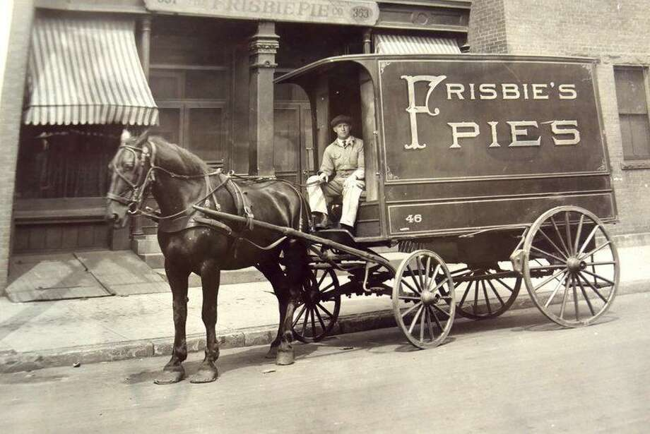 An early Frisbie truck Photo: Photo Courtesy Of Frisbee Pie