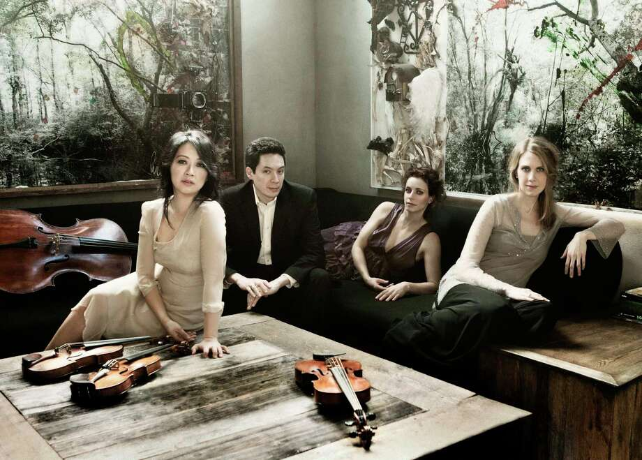 The Daedalus String Quartet will perform at Music Mountain, along with pianist Tanya Bannister on Sept. 8. Photo: Music Mountain / Contributed Photo