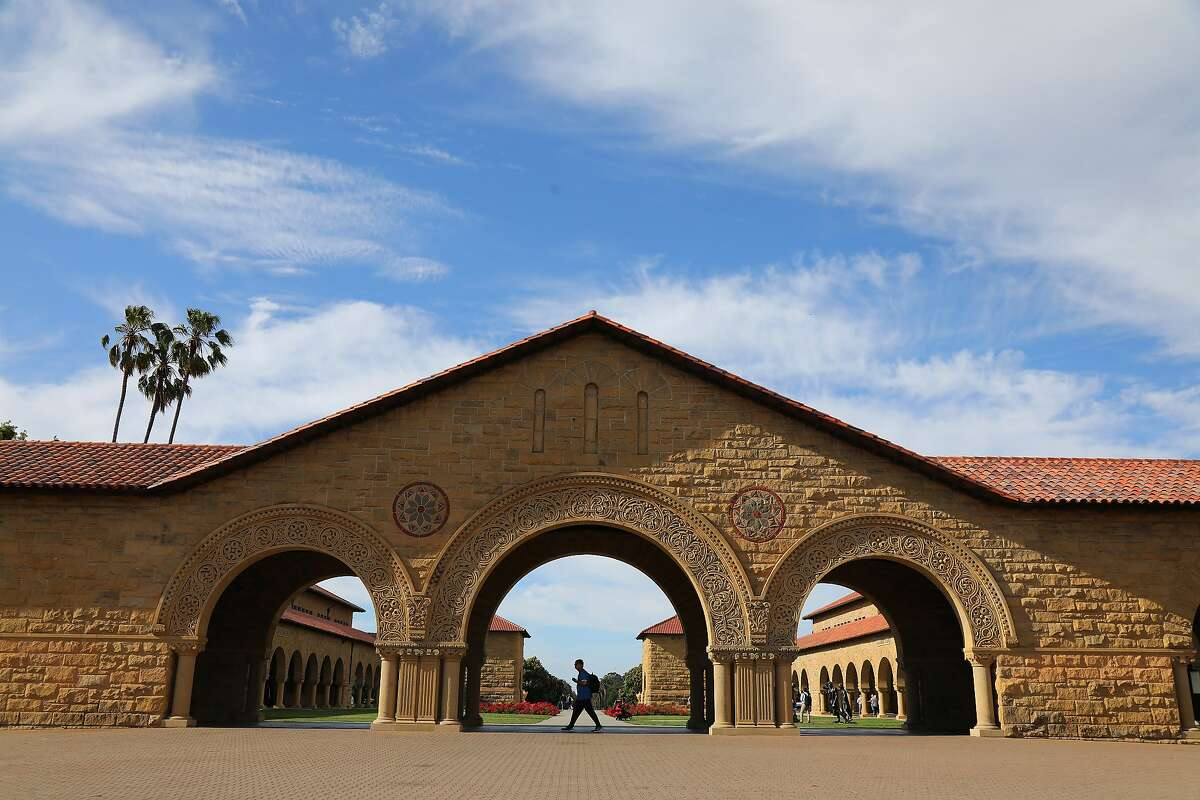 FILE -- The Stanford University campus in Palo Alto, Calif., July 2, 2019. The College Board, the company that administers the SAT exam, said on Aug. 27 that it would withdraw its much-debated plan to include a so-called adversity score on student test results, saying it had erred in distilling the challenges faced by college applicants to a single number. (Jim Wilson/The New York Times)