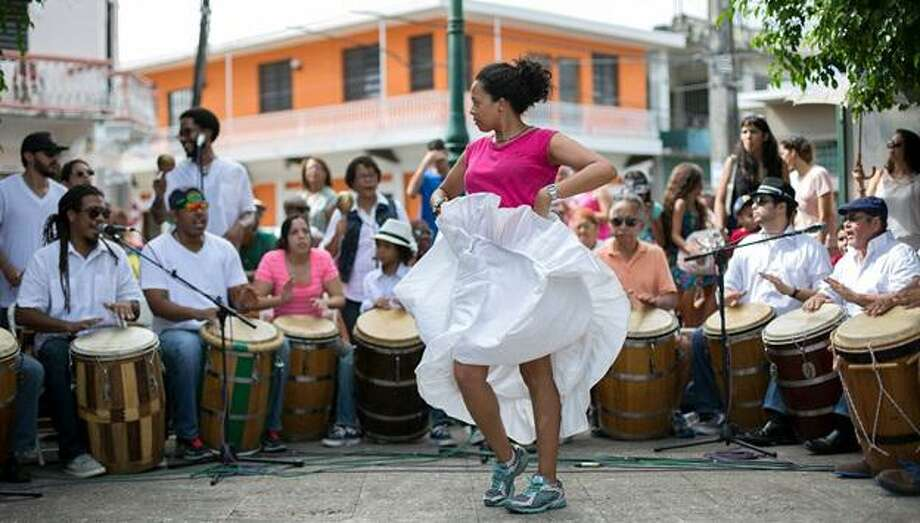 """The Movimiento Cultural's Puerto Rican """"bombazo"""" will be held Sunday, September 8, 2019, 2-4pm. Photo: Contributed"""