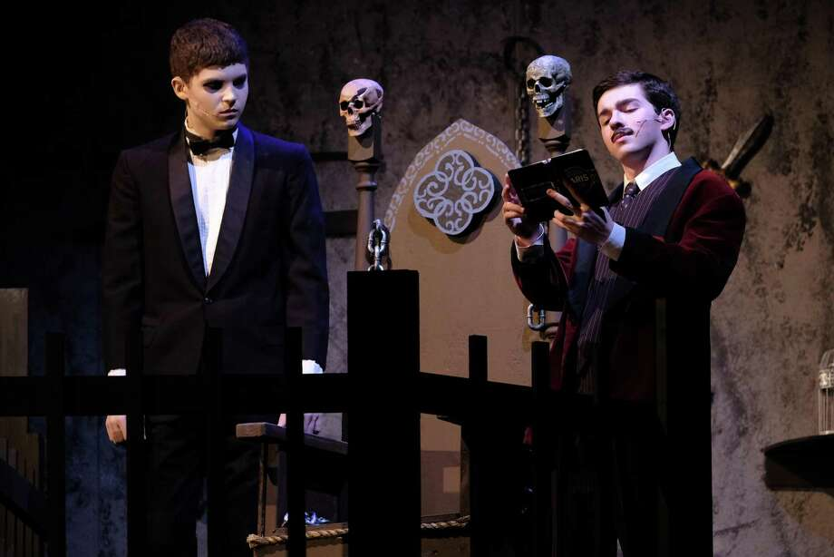 The Addams Family received a combined 17 Halo Award Nominations last year. It was one of two plays put on by the Ridgefield High School Visual and Performing Arts Department. Advanced Acting and Acting II were two of 18 classes pulled from the school's class offering for the 2019-20 school year. Photo: Contributed Photo