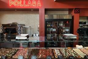 Pollara Pizzeria specializes in Roman-style pizza, as seen at�1788 Fourth St., Berkeley.